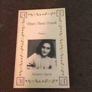 Accents - Dear Anne Frank poetry by Marjorie Agosin